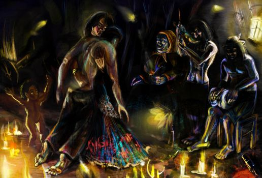 Dead can dance by nadobart
