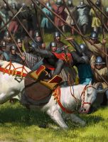 Bannockburn 1314 - detail by EthicallyChallenged