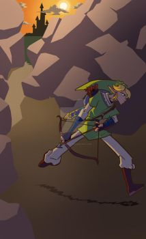 Link on the move by DJWhite0692