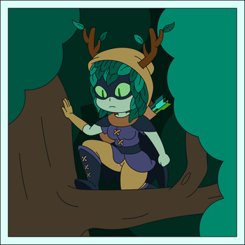 Huntress Wizard 3 by Doctor-G