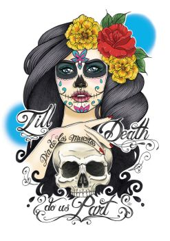 Day Of The Dead by myleafyentrails