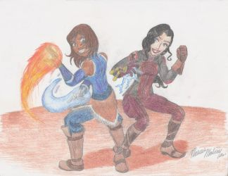 LOK - The Couple That Kicks Ass Together... by SemiJuggalo