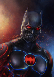 Batman: The Murder Machine by junkome