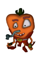 Willie Wumpa Cheeks (CB Characters 53/80) by DENDEROTTO