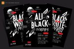 Black and White Party Flyer by satgur