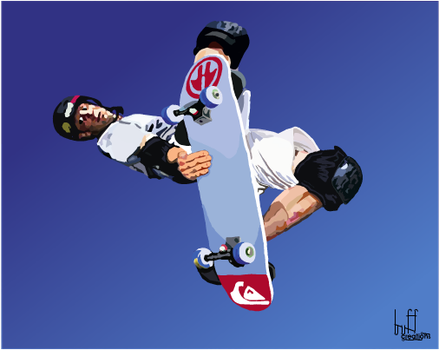 skater by buffman
