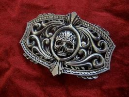 The Victory belt buckle. by flintlockprivateer