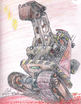 T-rexcavator Mk2 by Lord-Triceratops