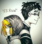 YOIInktober #23: Rival by Create-Me-Girl