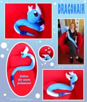 Dragonair Plush by Fox7XD