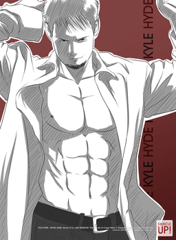 MuscleUp - Kyle Hyde by zephleit