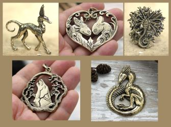 September pendants by hontor