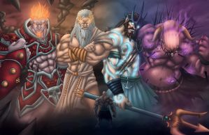 Online Kratos by Kyle-Fast