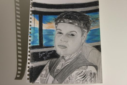 My Drawing of Tommy Hey from Desasterkids by WolfzArt13