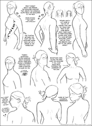 Over the Shoulder (female) Tutorial by DerSketchie