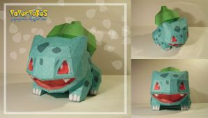Bulbasaur Doll Papercraft by Lyrin-83