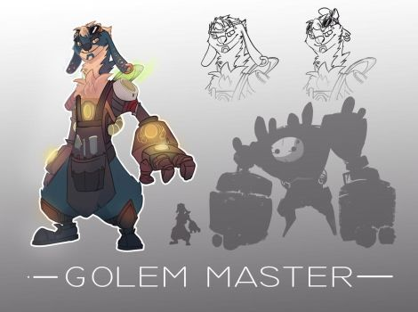 Auction! Golem Master (closed)adopt #127 by Energony