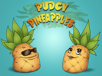 PUDGY PINEAPPLES by Seranalu