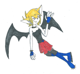 Request: Kaya the Bat by DCHorror