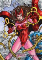 Scarlet Witch - Dangerous Divas 2 by tonyperna