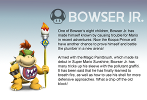 Smash Profile - Bowser Jr. by Ultimatethinker721