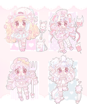 Adopt batch 68# Auction 5$ SB(CLOSED) by Bai-Jiu