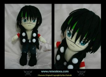 Kou Tenka Plushie by renealexa-plushie