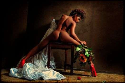 NAKED BRIDE by Gesell