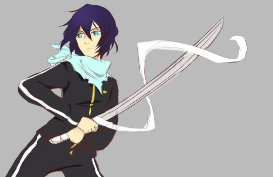 Yato WIP by Melody-in-the-Air