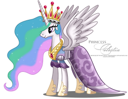 Celestia - Coronation dress by selinmarsou