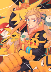 Team Instinct Spark by milk-assassin
