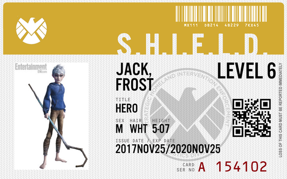 Shield agent jack frost by connorm1