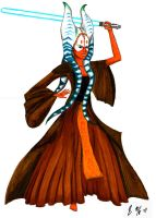 Shaak Ti by Dione-chan