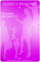 Silhouette Brush Pack 4 by An1ken