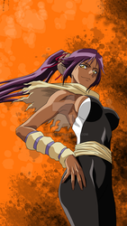 Commission (VECTOR): Yoruichi - Bleach by Raykugen