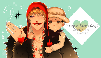 Happy Birthday,Corazon by Koumi-senpai