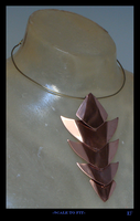 Scale To Fit- necklace by Deathcomes4u