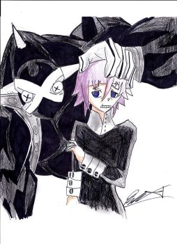 Crona and Ragnorok by dulest9494