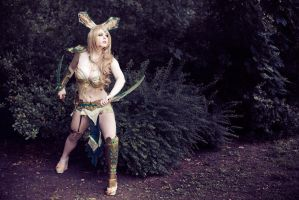 Leafeon Cosplay by MiuMoonlight