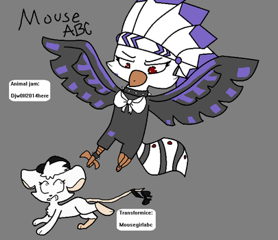 Animal Jam+Transformice|Djw0lf and Mouseabc by Mousegirlabc
