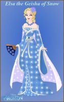 Elsa the Geisha of Snow by Astrogirl500