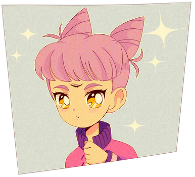 90s anime style [ Pastel Milk ] by BrokenDoll777