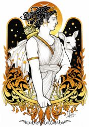 ARTEMIS by Medusa-Dollmaker