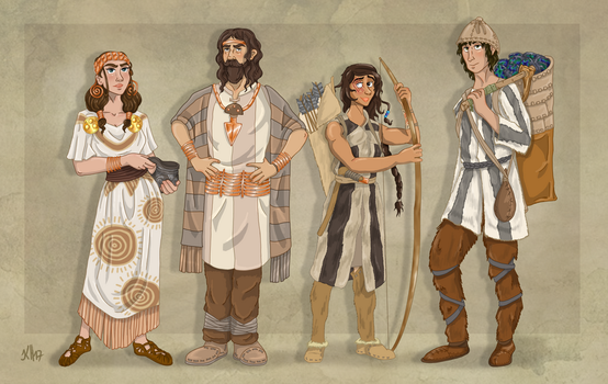 Stone Age Professions - Part 3 by Pelycosaur24