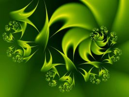 Green is Good by Thelma1