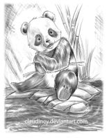 little panda by Claudiney