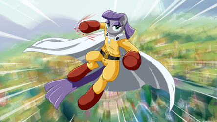 One Punch Maud. by Atariboy2600