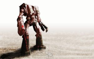 Battletech robot v2 by hipe-0