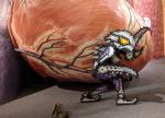 Space Pirate CosPIX on Impact Crater by ChozoBoy