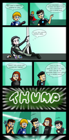 Loki and the careless avengers by chillydragon